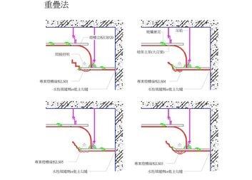 線板重疊施工法